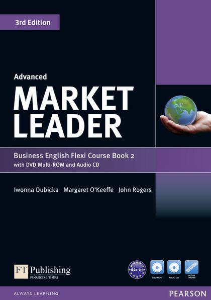 MARKET LEADER ADVANCED FLEXI 2 COURSEBOOK PACK