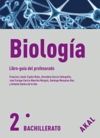 BIOLOGÍA, 2 BACHILLERATO. LIBRO GUÍA DEL PROFESORADO