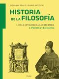HISTORIA DE LA FILOSOFÍA 1. DE LA ANTIGÜEDAD A LA EDAD MEDIA. 2. PATRISTICA Y ES.