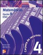 MATEMATICAS 4º ESO OPCIÓN B, CARPETA DE RECURSOS SOLUCIONARIO.