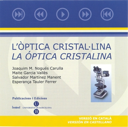 ÒPTICA CRISTAL·LINA, L´/LA ÓPTICA CRISTALINA (CD-ROM)
