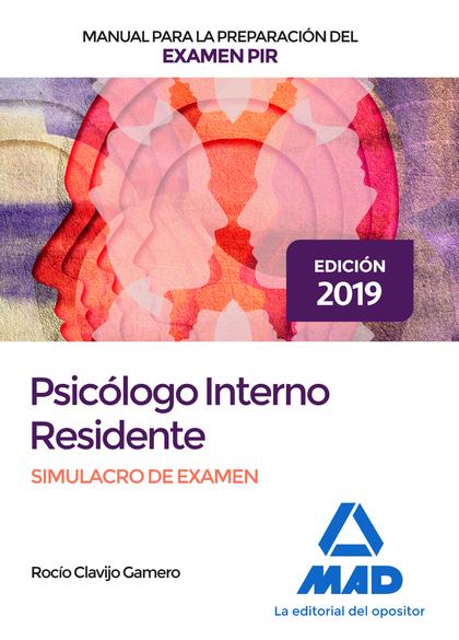 PSICOLOGO INTERNO RESIDENTE MANUAL SIMULACRO EXAMEN