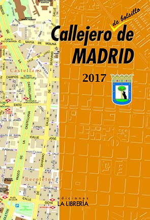 CALLEJERO DE BOLSILLO DE MADRID 2017