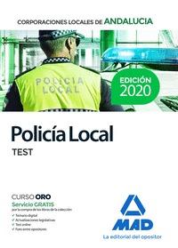POLICÍA LOCAL DE ANDALUCÍA. TEST