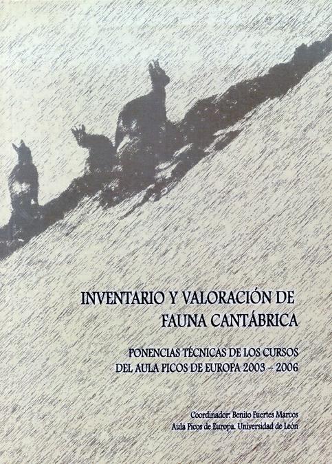 INVENTARIO Y VALORACIÓN DE FAUNA CANTÁBRICA (2003-2006) : LEÓN