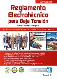REGLAMENTO ELECTROTÉCNICO PARA BAJA TENSIÓN  4.ª EDICIÓN.