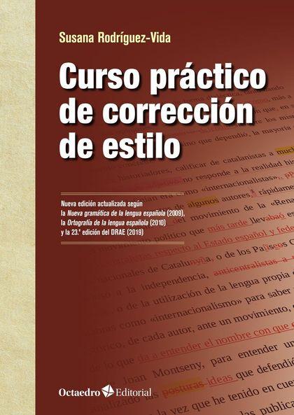 CURSO PRÁCTICO DE CORRECCIÓN DE ESTILO.