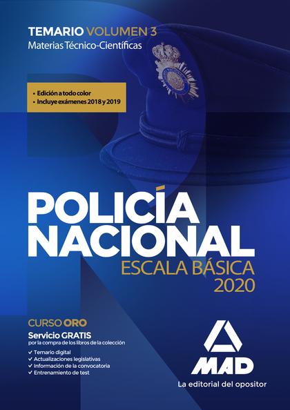 POLICIA NACIONAL TEMARIO 3 2020 EN COLOR.