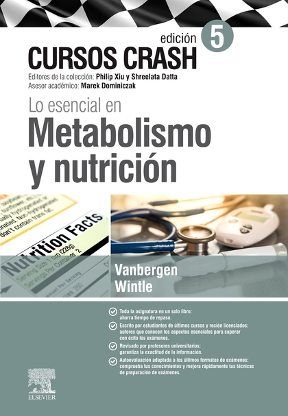 LO ESENCIAL EN METABOLISMO Y NUTRICIÓN (5ª ED.)                                 CURSO CRASH