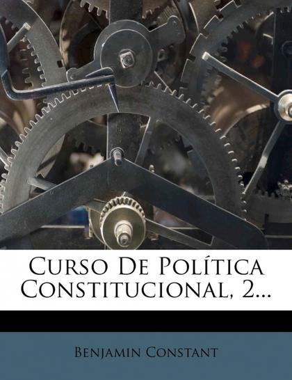 CURSO DE POLÍTICA CONSTITUCIONAL, 2...