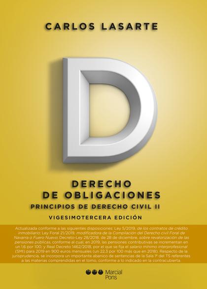 PRINCIPIOS DE DERECHO CIVIL, II 2019.