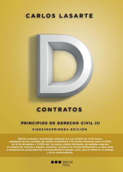 PRINCIPIOS DE DERECHO CIVIL. CONTRATOS