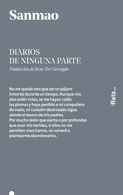 DIARIOS DE NINGUNA PARTE.
