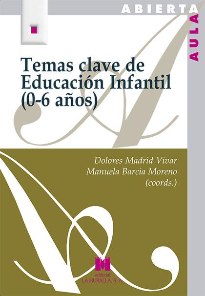 TEMAS CLAVE DE EDUCACIÓN INFANTIL (0-6 AÑOS)