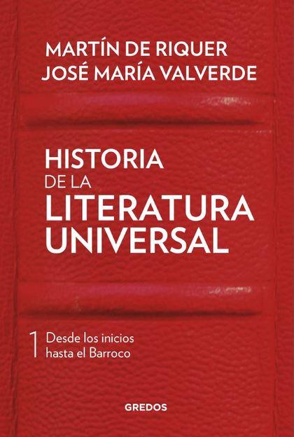 HISTORIA DE LA LITERATURA UNIVERSAL I.