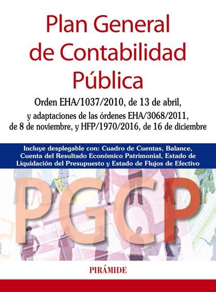 PLAN GENERAL DE CONTABILIDAD PÚBLICA.