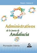ADMINISTRATIVO JUNTA ANDALUCIA TEMARIO VOLUMEN 2 PROMOCION INTERNA.