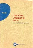 LITERATURA CATALANA III: (SIGLO XX)