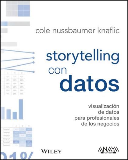 STORYTELLING CON DATOS. VISUALIZACIÓN DE DATOS PARA PROFESIONALES.