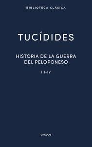 HISTORIA DE LA GUERRA DEL PELOPONESO III-IV.