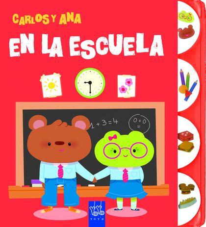 EN LA ESCUELA. CARLOS Y ANA