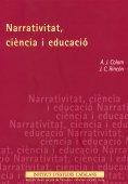 NARRATIVITAT, CIÈNCIA I EDUCACIÓ