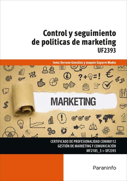 CONTROL Y SEGUIMIENTO DE POLÍTICAS DE MARKETING.