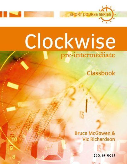 CLOCKWISE PRE-INT CLASSBOOK