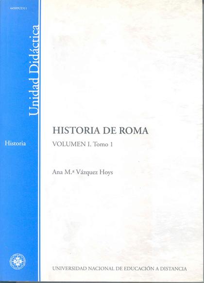 HISTORIA DE ROMA.VOL I