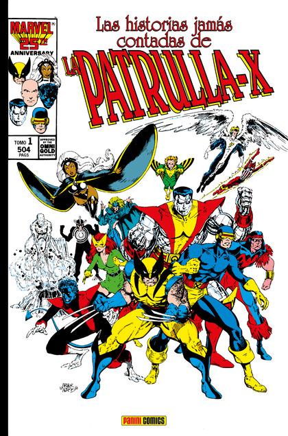 MARVEL GOLD LAS HISTORIAS JAMÁS CONTADAS DE LA PATRULLA-X 1.