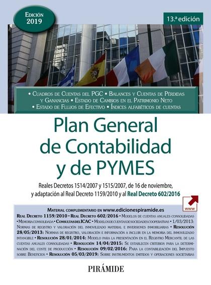 PLAN GENERAL DE CONTABILIDAD Y DE PYMES                                         REALES DECRETOS