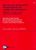 NORMAS DE PRODUCCIÓN DE EJEMPLARES DE CATEGORÍAS SEMÁNTICAS: JÓVENES, ANCIANOS Y ENFERMOS DE AL