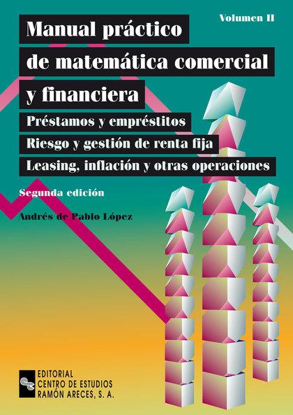 MANUAL PRACTICO DE MATEMATICA COMERCIAL Y FINANCIERA II