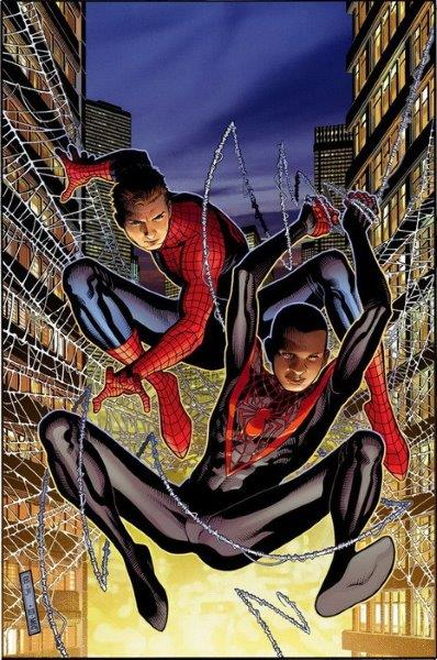 MILES MORALES SPIDERMAN 02: SPIDERMEN
