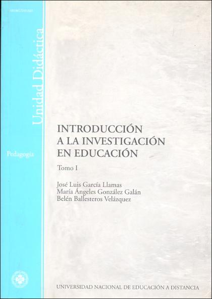 INTRODUCCIÓN A LA INVESTIGACIÓN EN EDUCACIÓN.
