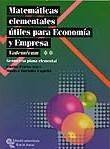 MATEMÁTICAS ELEMENTALES ÚTILES PARA ECONOMÍA Y EMPRESA: VADEMÉCUM : GEOMETRÍA PLANA ELEMENTAL