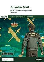 TEMARIO 1 GUARDIA CIVIL. ESCALA DE CABOS Y GUARDIAS.