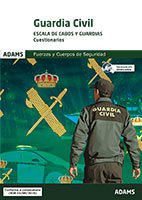 CUESTIONARIOS GUARDIA CIVIL. ESCALA DE CABOS Y GUARDIAS.