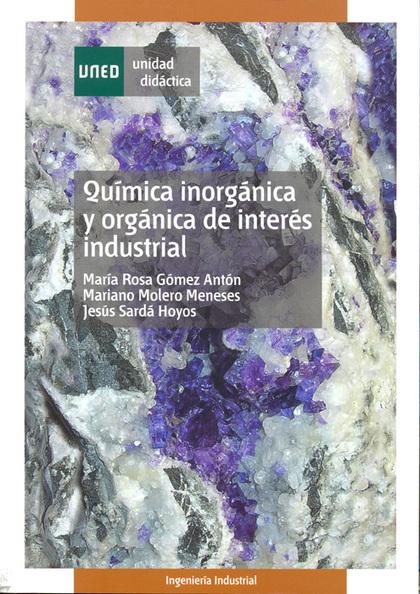 QUÍMIA INORGÁNICA Y ORGÁNICA DE INTERÉS INDUSTRIAL