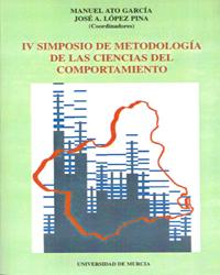 IV SIMPOSIO DE METODOLOGÍA DE LAS CIENCIAS DEL COMPORTAMIENTO