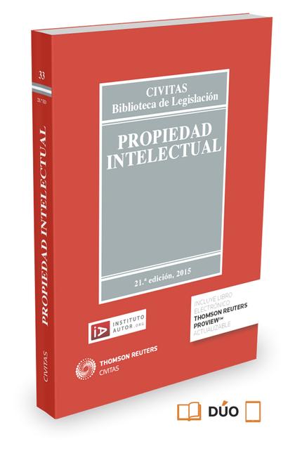 PROPIEDAD INTELECTUAL (PAPEL + E-BOOK).