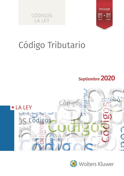 CÓDIGO TRIBUTARIO 2020.