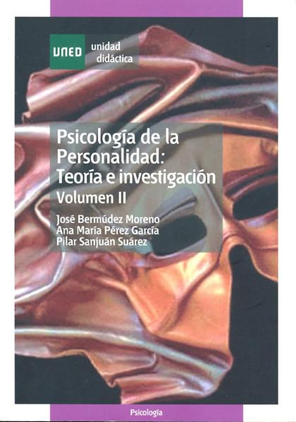 UD. II. PSICOLOGIA PERSONALIDAD: TEORIA E INVESTIGACION