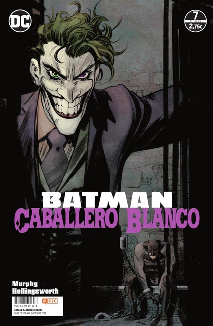 BATMAN: CABALLERO BLANCO NÚM. 07.