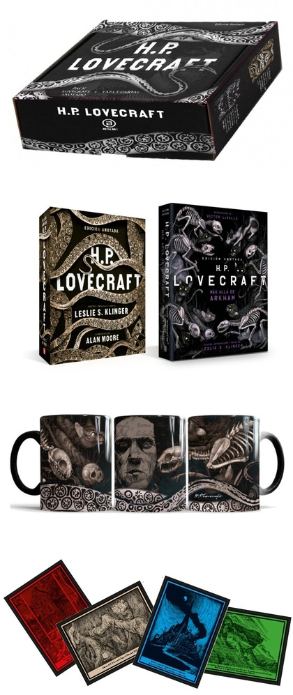 PACK H.P. LOVECRAFT ANOTADO.