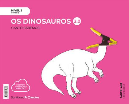 CUANTO SABEMOS 3.0 NIVEL 2 LOS DINOSAURIOS OBRADOIRO.