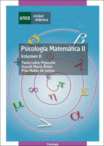 PSICOLOGÍA MATEMÁTICA II.