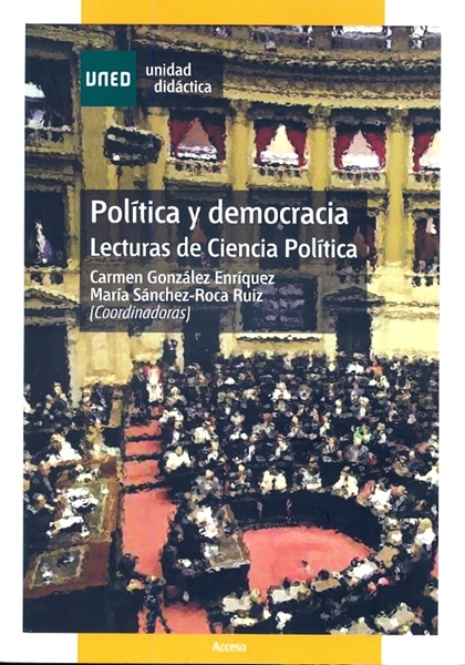 POLÍTICA Y DEMOCRACIA, LECTURAS DE CIENCIA POLÍTICA.