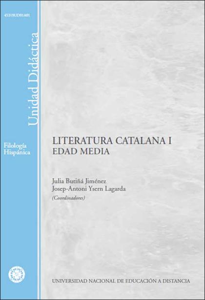 LITERATURA CATALANA I (EDAD MEDIA)