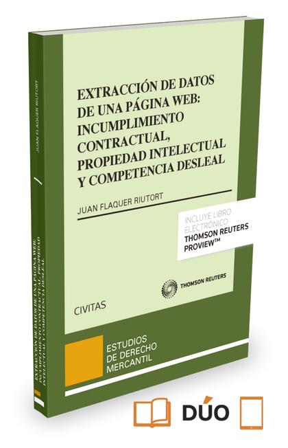 EXTRACCIÓN DE DATOS DE UNA PÁGINA WEB: INCUMPLIMIENTO CONTRACTUAL, PROPIEDAD INT.